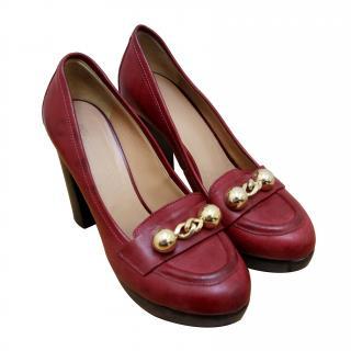 Sonia Rykiel Vintage Design High Heel Loafer Pump (RPP �400)