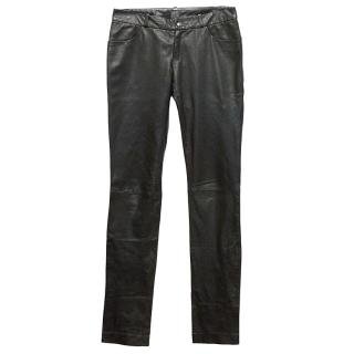 Calvin Klein Leather Trousers