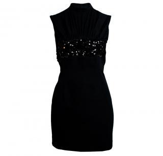 Emilio de la Morena Mini Dress With Embellishment