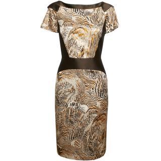 Giles Printed Pencil Dress