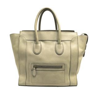 Celine Beige Nano Luggage Bag