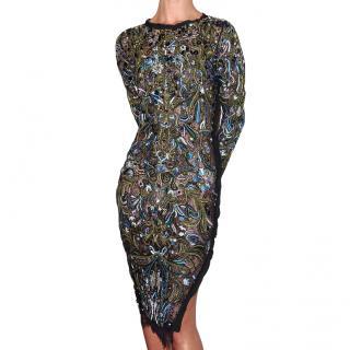 Emilio Pucci Beaded Runway Dress