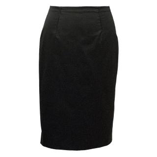 Paule Ka Black Pencil Skirt