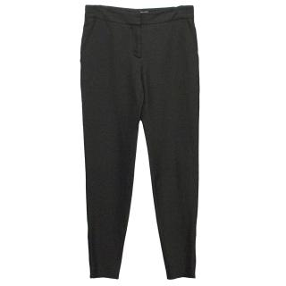 Stella McCartney Black Silk Valez Skinny Trousers
