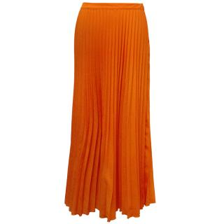 MSGM Orange Skirt