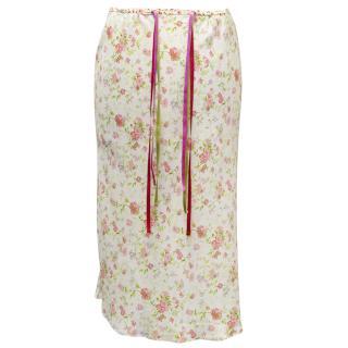 Etro Floral Skirt