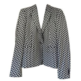 Paul Smith White and Black checked Blazer