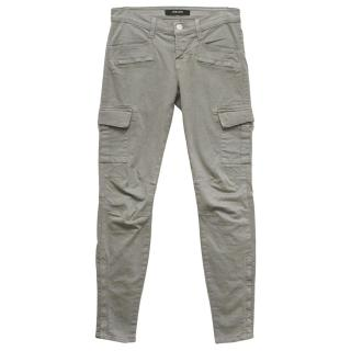 J Brand Khaki Green Cargo Jeans