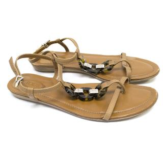 Tods Brown Sandals