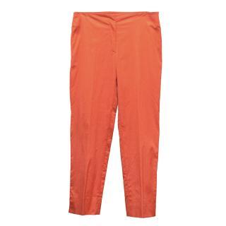 Prada Orange Pants