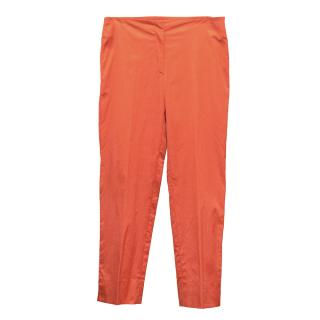Prada Orange Pants