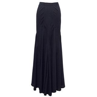 Donna Karan Navy Skirt