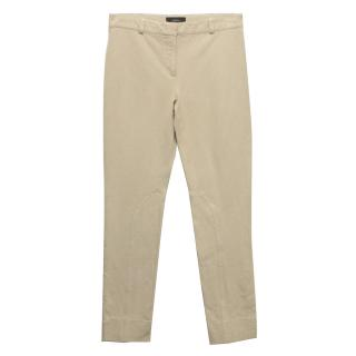 Joseph Beige Skinny Trousers