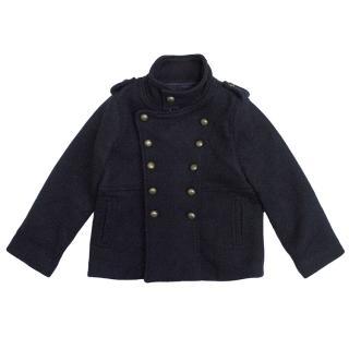 Stella McCartney Kids Navy Blue Coat