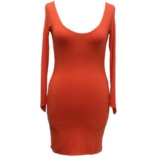 Aqua Red Iris Mini Dress