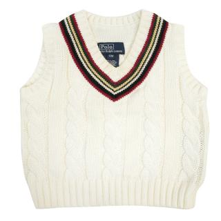 Ralph Lauren Cable Knit Vest