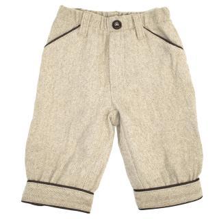 Il Gufo Kids Beige Trousers