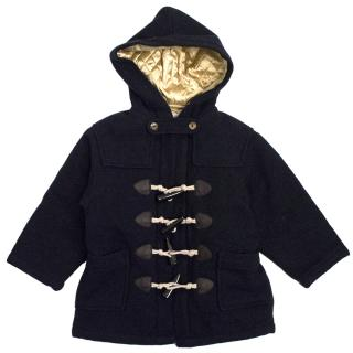 Rachel Riley Kids Navy Blue Duffle Coat