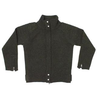 RLX Ralph Lauren Kids Dark Green Cardigan