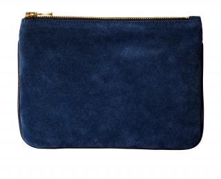 Balmain for H&M blue-black clutch