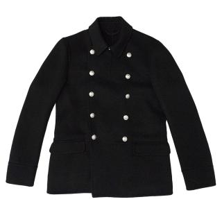 Dunhill Navy Double Breasted Coat