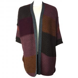 Essentiel patchwork cape