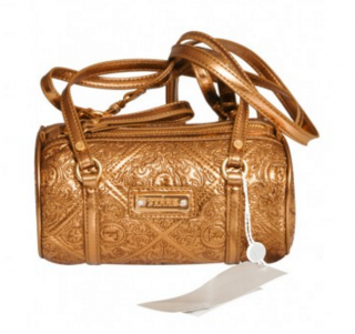 Ferre Gold Handbag