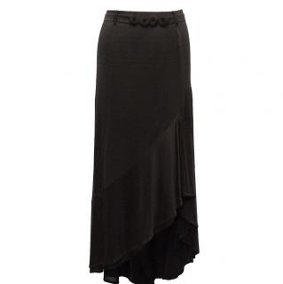 Missoni Black Maxi Skirt