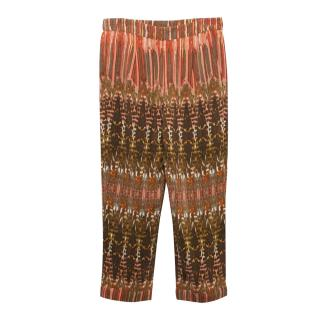BCBG Max Azria Patterned Trouser