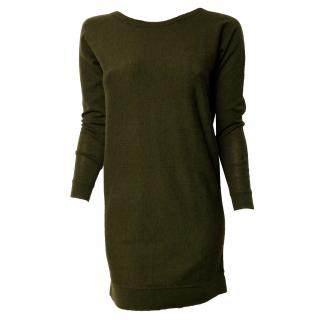 Essentiel khaki knit dress-tunic