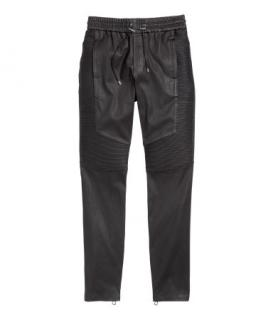 Balmain for H&M leather pants (unisex) Limited Edition