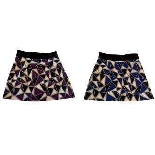 Fausto Puglisi geometric skirt
