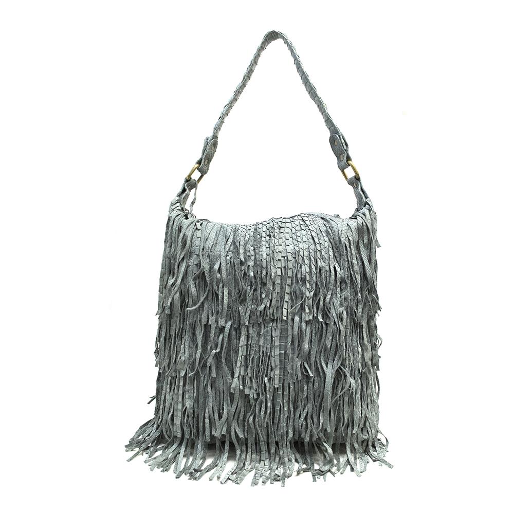Maisha Grey Rara Shoulder Bag