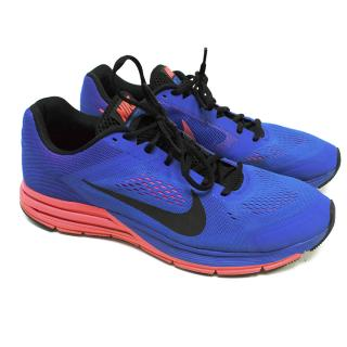 Nike Blue and Pink Trainers