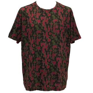 Marc by Marc Jacobs Black and Red Printed T-shirt