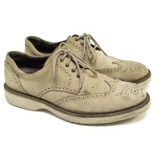 Hogan Wingtip Suede Brogues