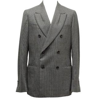 Yves Saint Laurent Double Breasted Coat
