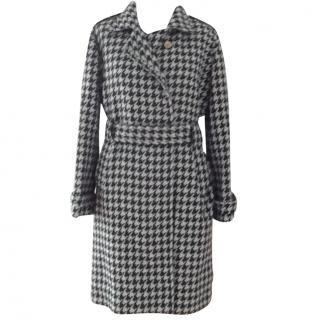 Emporio Armani Check Wool Coat