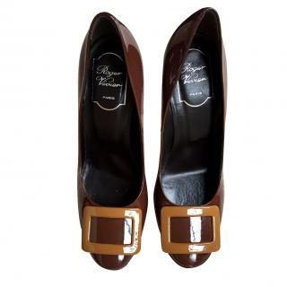 Roger Vivier Brown Shoes