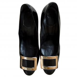Roger Vivier Black ladies shoes