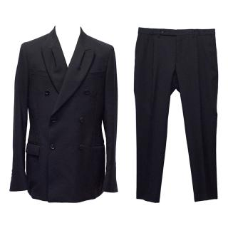 Yves Saint Laurent Navy Suit