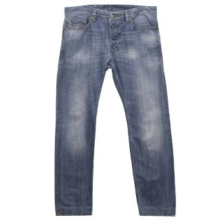 Diesel Blue Wash 'Safado' Denim Jeans