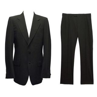 Yves Saint Laurent Black Suit
