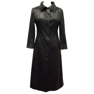 Dolce & Gabbana Black Long Coat