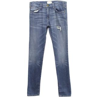 Current Elliot Blue Wash Denim Jeans