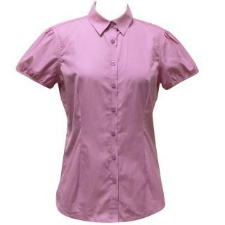 Pink by Thomas Pink, Pink Short Sleeve Shirt