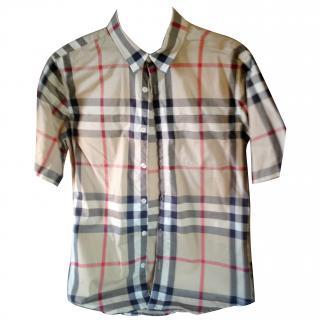 Boy Burberry Shirt