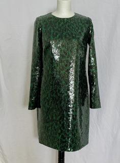 Marc Jacobs emerald sequin dress