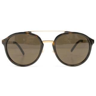 Burberry Brown Tortoise Shell Sunglasses