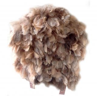 Sonia Rykiel Ostrich Feather Gilet